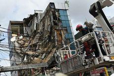Puslabfor: Gedung Roboh di Slipi karena Korosi Struktur Beton