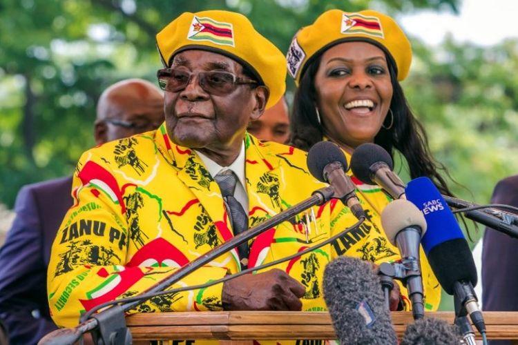 Presiden Zimbabwe Robert Mugabe.