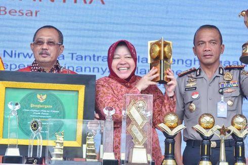 Risma Pamerkan Sederet Penghargaan yang Diraih Kota Surabaya Sepanjang 2018
