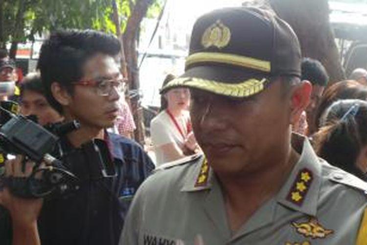 Kapolres Jakarta Selatan Komisaris Besar Wahyu Hadiningrat