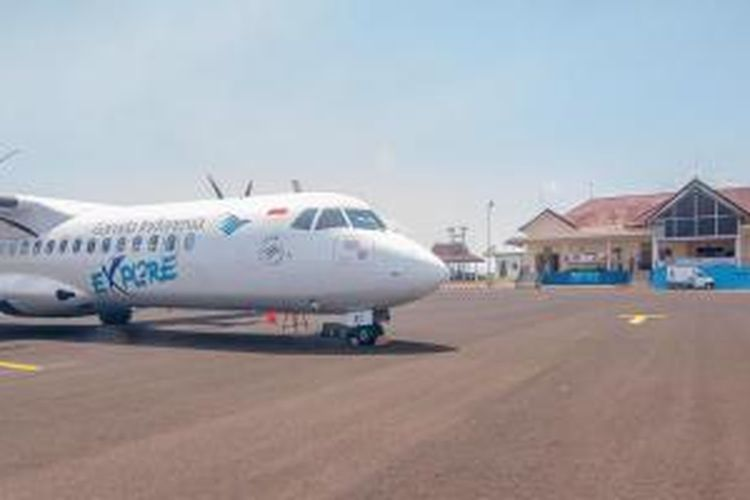 Pesawat milik Garuda Indonesia