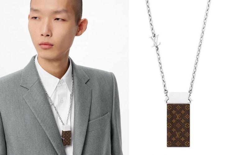 Louis Vuitton Eraser Necklace