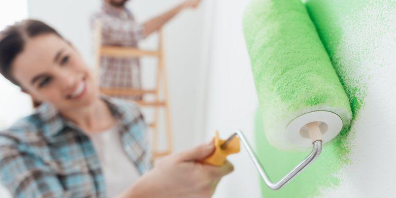 Tips Aman Mengecat Rumah Saat Sedang Hamil