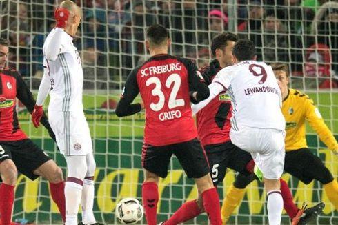 Berkat Dua Gol Lewandowski, Bayern Bangkit dan Menang