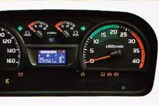 Mengenal Indikator Warna Takometer Bus atau Truk