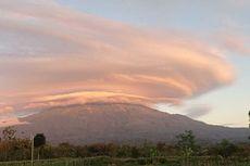 Fenomena Awan Menyerupai Topi di Puncak Gunung Lawu, Warga: Sudah 2 Hari Ini