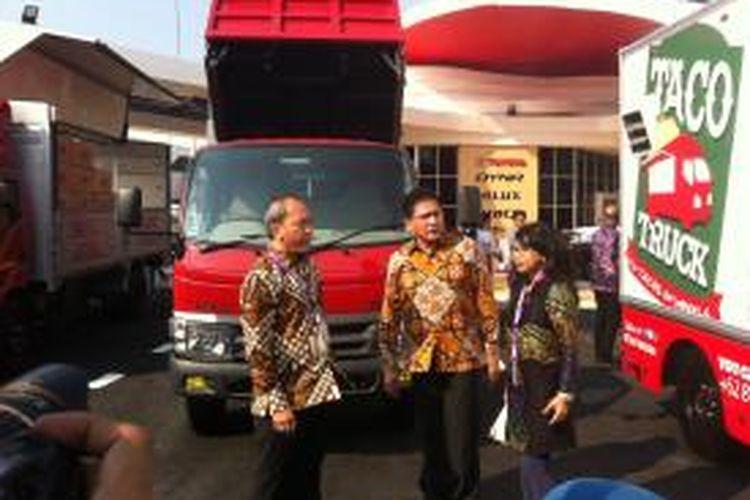 Toyota meluncurkan truk khusus pengusaha makanan