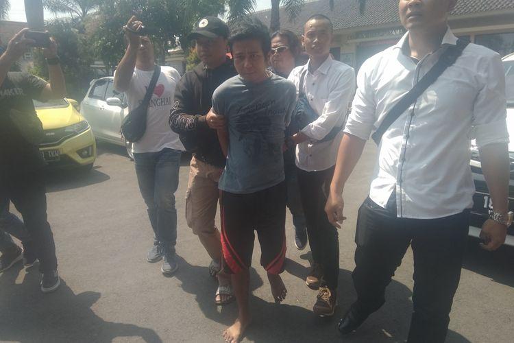 Pelaku pelempar sperma ke wanita di Kota Tasikmalaya berhasil ditangkap Satreskrim Polres Tasikmalaya Kota, Senin (18/11/2019).