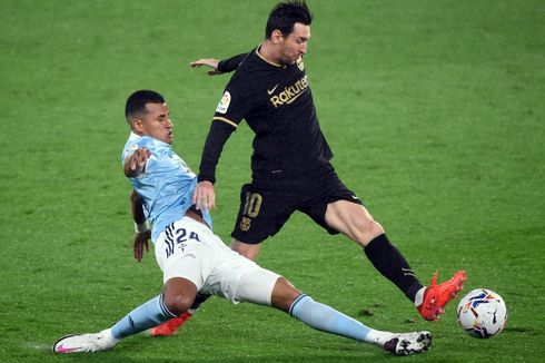 Celta Vigo Vs Barcelona, Lionel Messi Perpanjang Masa