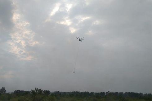 15 Helikopter dan 1 Pesawat Disiagakan untuk Penanganan Karhutla di Riau