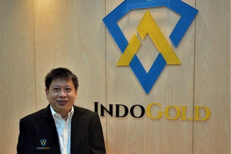 Amri Ngadiman sebagai Founder & CEO IndoGold