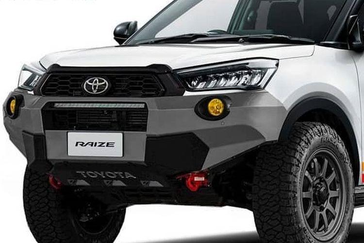 Modifikasi digital Toyota Raize
