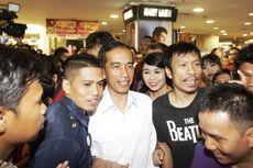 Beli Kaus Kaki, Jokowi Bikin Heboh Central Plaza Lampung