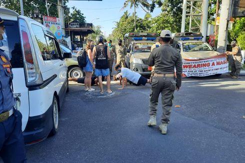 WNA di Bali Enggan Pakai Masker karena Mampu Bayar Denda, Disanksi Malah Tertawa