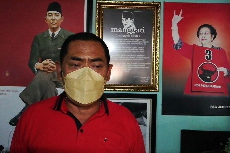 Ketua DPC PDIP Solo, FX Hadi Rudyatmo.