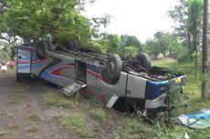 Kronologi Kecelakaan Karambol di Madiun, Berawal Bus Sugeng Rahayu Mendahului Kendaraan