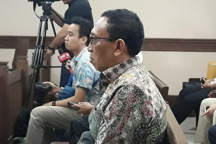 Sekretaris Jenderal Komite Olahraga Nasional Indonesia (KONI) Ending Fuad Hamidy menjadi terdakwa di Pengadilan Tipikor Jakarta, Senin (11/3/2019).