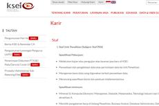 Kustodian Sentral Efek Indonesia Buka Lowongan Kerja untuk Lulusan S1, Ini Perinciannya...