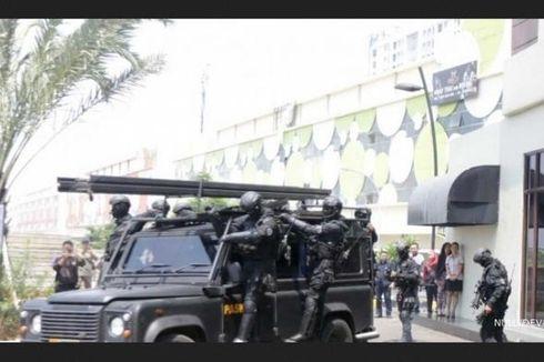 TNI AU Gelar Latihan Antiteror di Atria Residences Gading Serpong