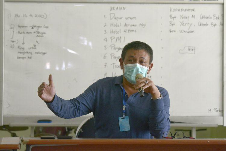 Wakil Sekretaris IVSatgas Percepatan Penanganan Covid-19 Kota Surabaya, Irvan Widyanto