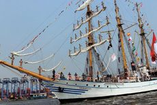 KRI Dewaruci Bawa Misi Kenalkan Pariwisata Indonesia