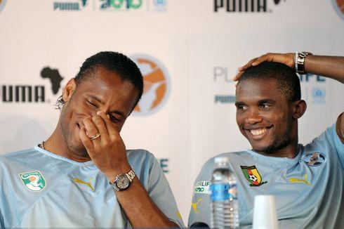 Ketika Didier Drogba dan Samuel Eto'o Bicarakan Persib Bandung...