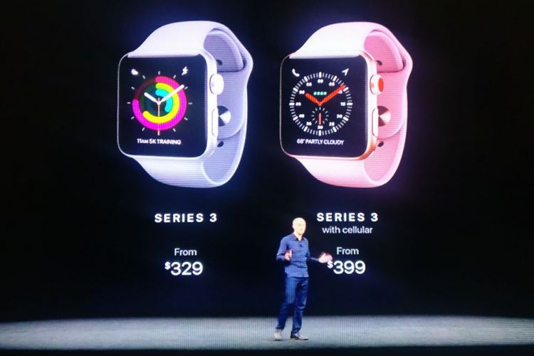 Apple Watch 3 memiliki fitur jaringan seluler dan GPS khusus yang berarti tak lagi bergantung pada iPhone.