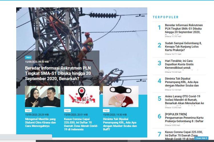 Populer Tren Unggahan Informasi Rekrutmen Pln Sosok Rahayu Saraswati Ponakan Prabowo Yang Jadi Waketum Gerindra Halaman All Kompas Com
