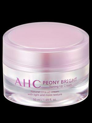 Toning Up Cream dari rangkaian AHC Peony Bright