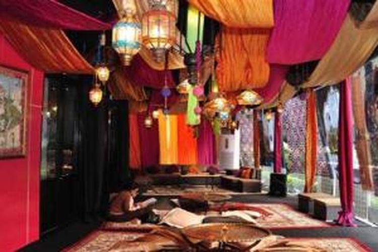 Nuansa Maroco, Timur Tengah, dihadirkan Mango Tree Bistro guna menyambulan bulan Ramadhan 1434 H