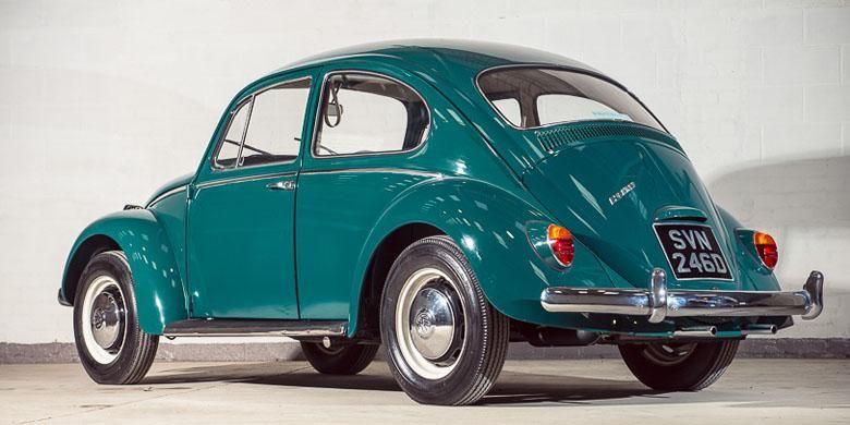 VW Kodok klasik berusia 50 tahun.