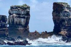 Darwin's Arch, Batu Populer di Kepulauan Galapagos Runtuh