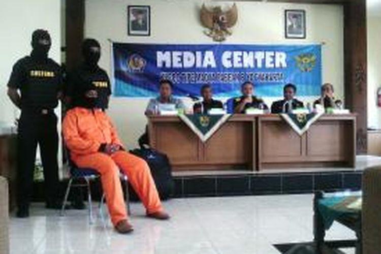 AF saat berada di kantor KPPBJ Yogyakarta