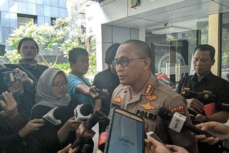 Kabid Humas Polda Metro Jaya, Kombes Pol Yusri Yunus di Polda Metro Jaya, Senin (30/12/2019)