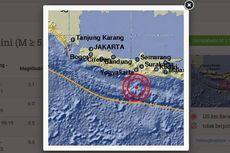 Gempa 5,1 Guncang Barat Daya Gunungkidul, Getaran Terasa di Bantul