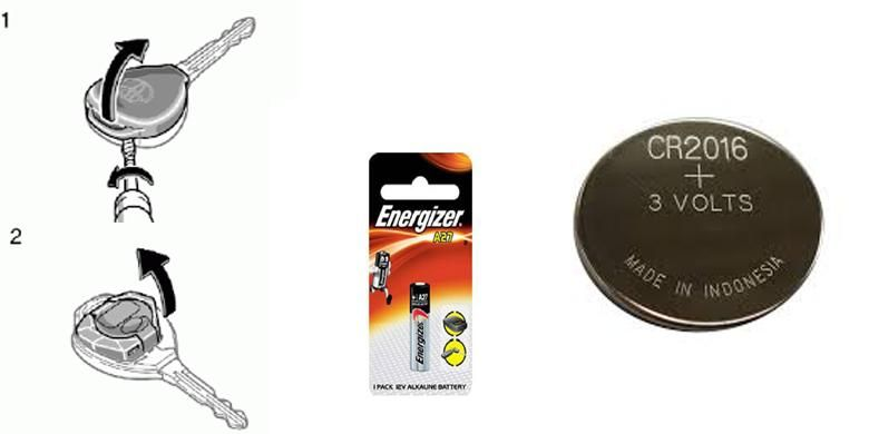Cara ganti baterai remote mobil dan tipe baterainya.
