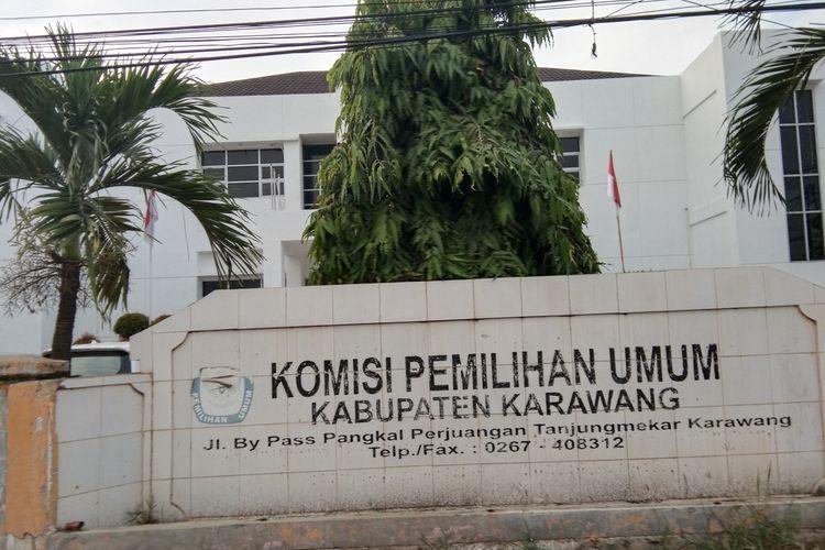 Kantor KPU Kabupaten Karawang