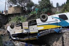 Kondektur Pikap Tewas, Korban Bus Terjun ke Jurang Jadi 20 Orang