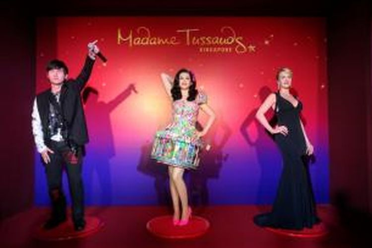Museum Madam Tussauds di Pulau Sentosa, Singapura