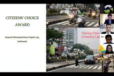 [POPULER PROPERTI] Foto Zebra Cross Margonda Depok Menang Kontes Tingkat Asia