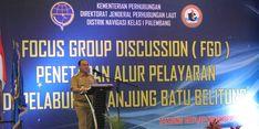 Gubernur Babel Minta Ditjen Perhubungan Laut Tetapkan Alur Pelayaran Pelabuhan Tanjung Batu
