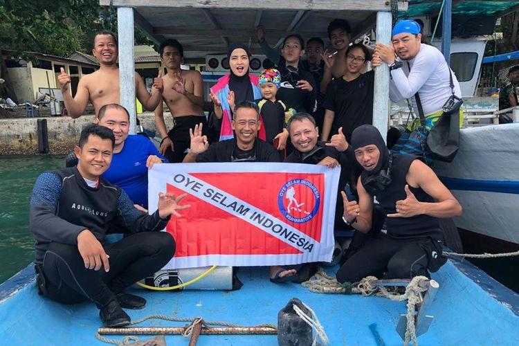 Anggota Oye Selam Indonesia