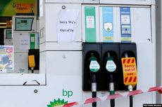 90 Persen SPBU di Kota-kota Besar Inggris Kehabisan BBM karena Panic Buying