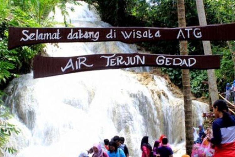 destinasi wisata jogja terbaru Air Terjun Gedad Destinasi Wisata Alam Terbaru Di