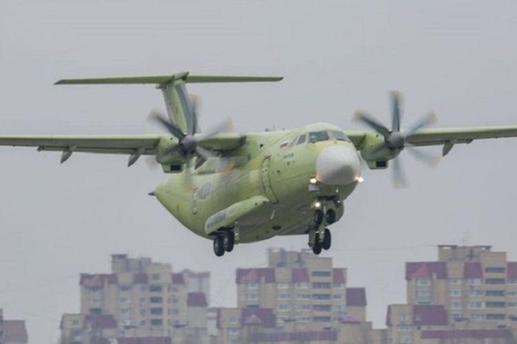 Pesawat angkut militer Rusia terbaru, Ilyushin Il-112V.