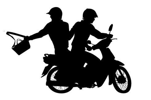 Sedang Melarikan Diri, Dua Penjambret Ditangkap Driver Ojol dan Diamuk Massa