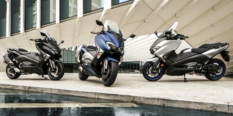 Yamaha TMAX 2017 meluncur dalam tiga versi.