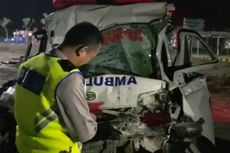 Fakta Ambulans Tabrak Truk di Tol Pejagan-Pemalang, Sopir Diduga Ngantuk hingga Terseret 200 Meter
