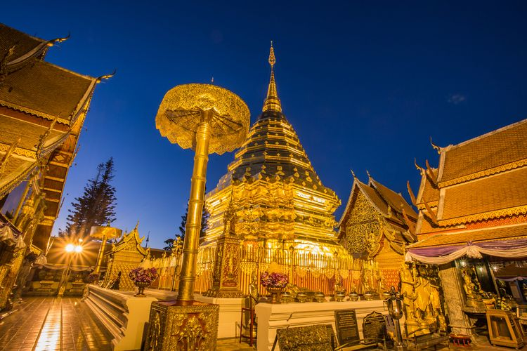 Wat Phra That Doi Suthep.