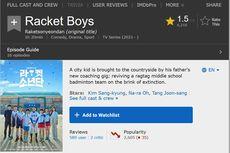 Buat Kesal Netizen Indonesia, Rating Racket Boys di IMDb Tinggal 1,5